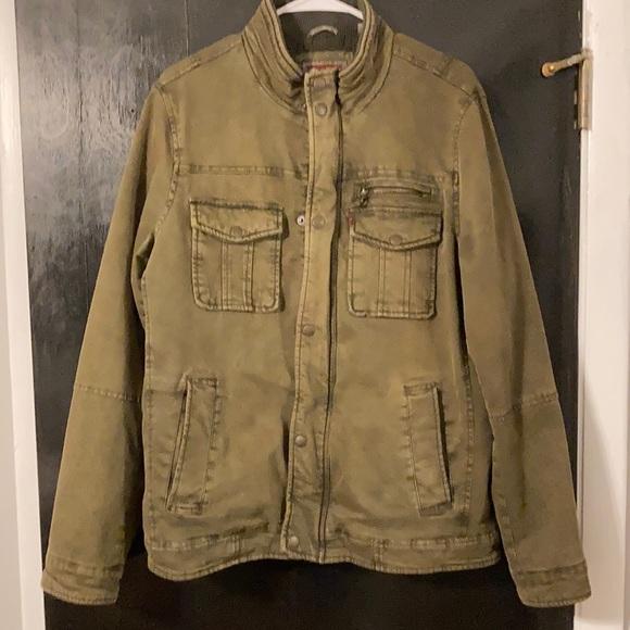 Weathered Levi's jacket